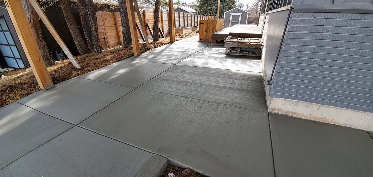 complete replacement garage floor or carport floor in boulder