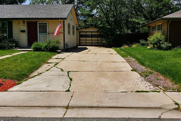 replacement driveway denver
