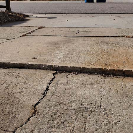 residential concrete Denver driveway replacement and repair