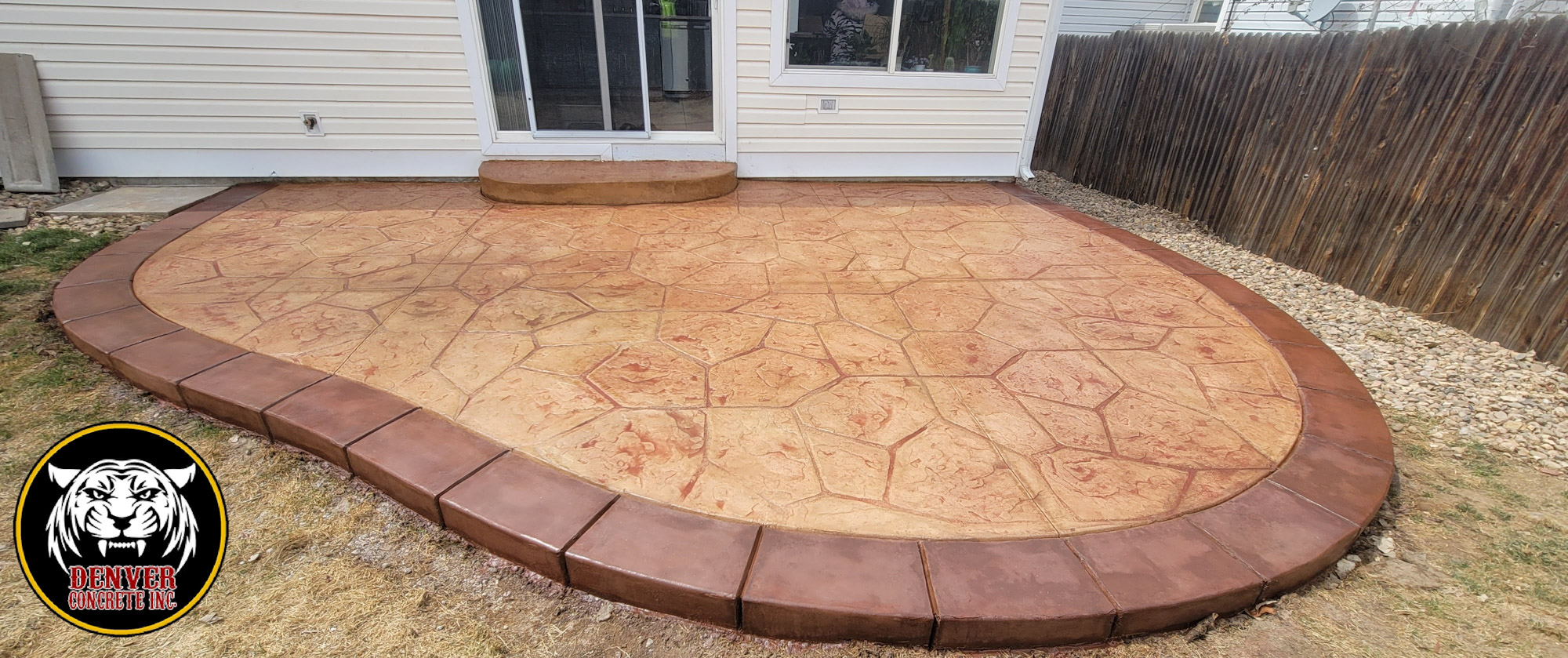 Green Valley, Denver, Co Stamped Concrete Patio