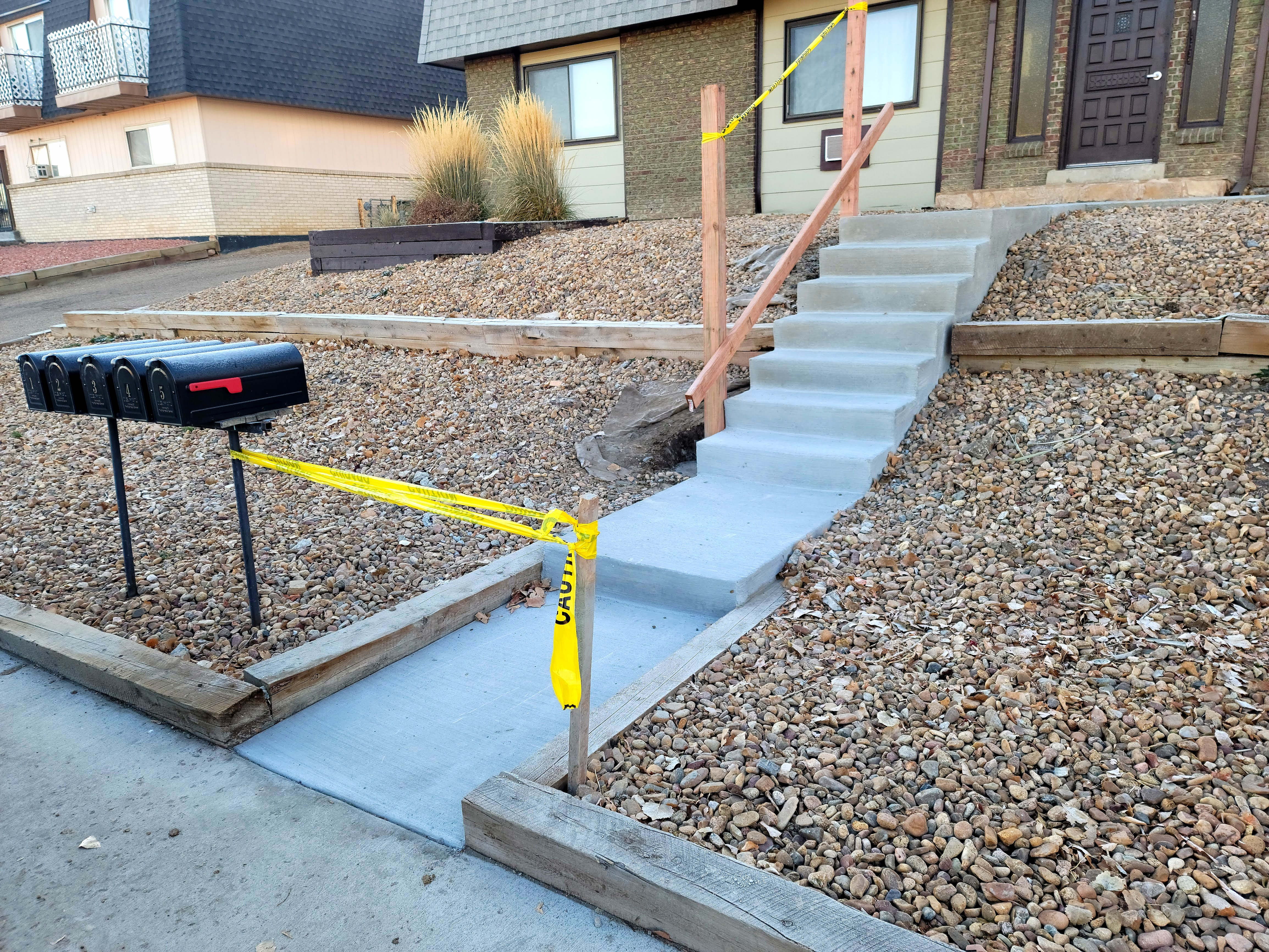 wheatridge concrete sidewalk steps